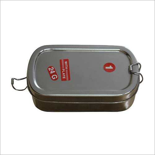 24g SS Rectangular Lunch Box