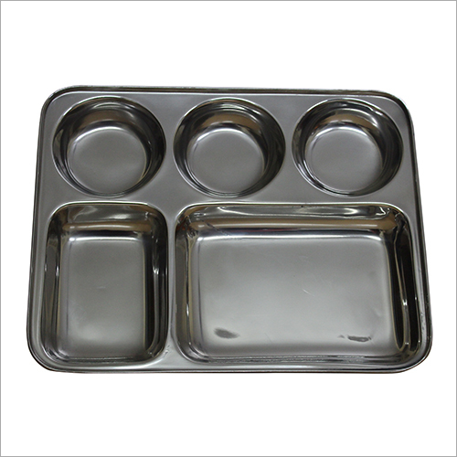 Stainless Steel Meal Plate