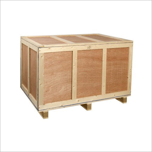 Rectangular Plywood Storage Crate
