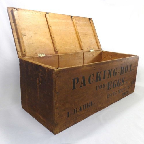 Wooden Egg Packing Box