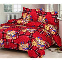 Cartoon Printed Bedsheet
