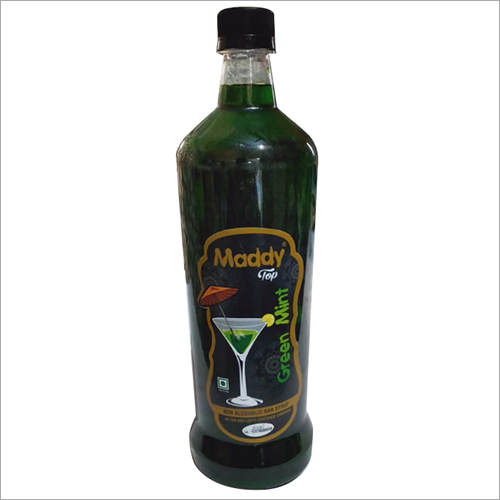 Green Mint Non Bar Syrup