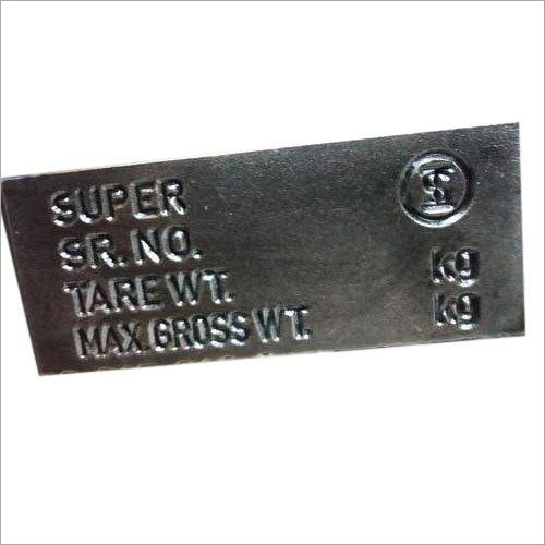 Mild Steel Die Stamp