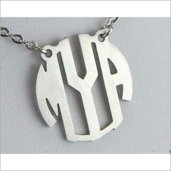 Mild Steel Name Monogram