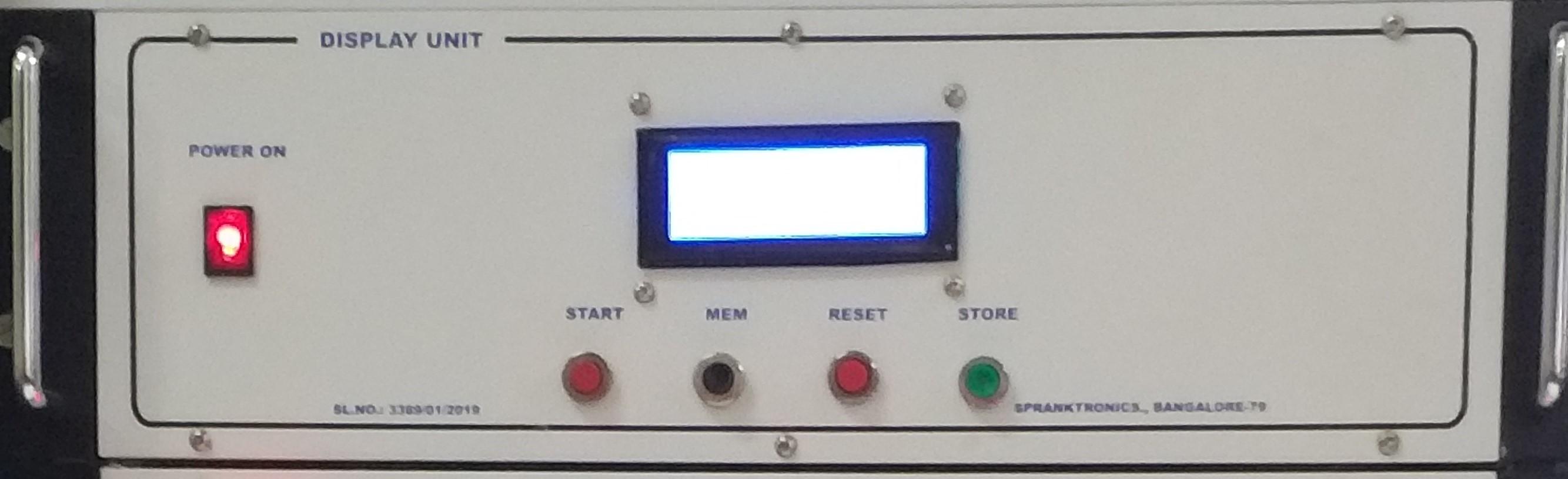 Rotating Bending Fatigue Testing machine controller