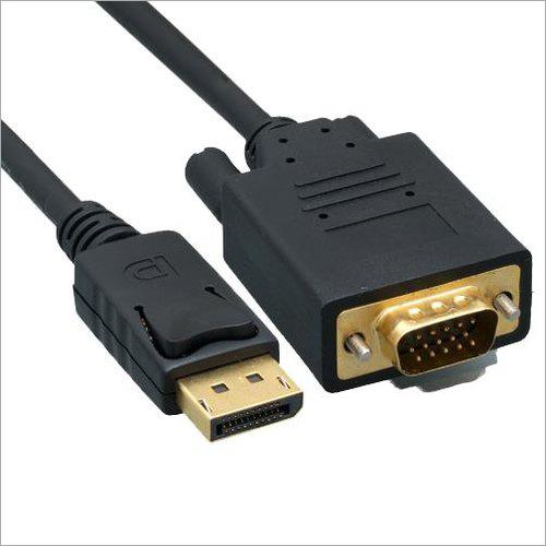 Display Port To DVI Display Cable
