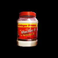 Glucose-D Orange jar