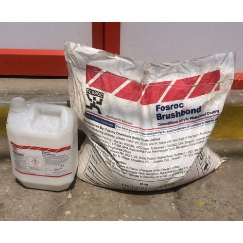 Fosroc Brushbond Grey Waterproofing Chemical