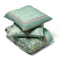 Digital Printed Cotton Quilt Set With Polyfill