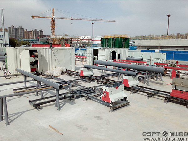 Transportable Type Pipe Fabrication Production Line