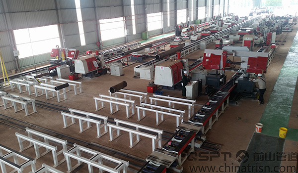 Fixed Type Pipe Fabrication Production Line