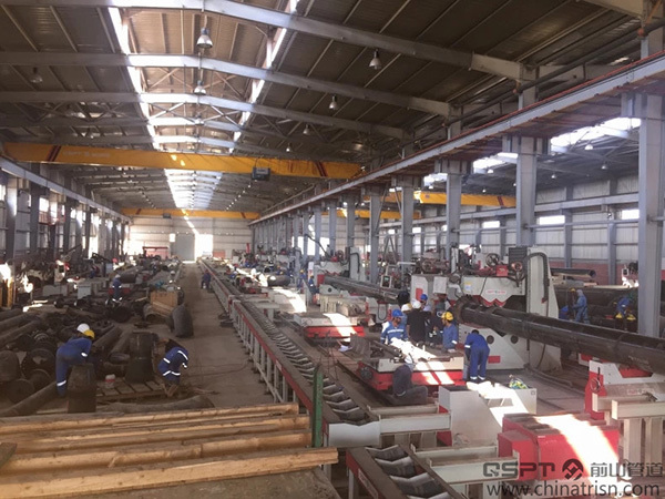 Numerical Control Type Pipe Fabrication Production Line