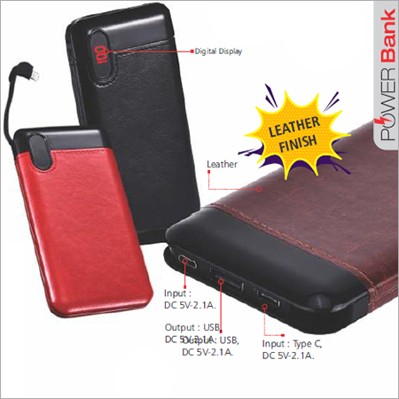 Leather Power 10000mAH