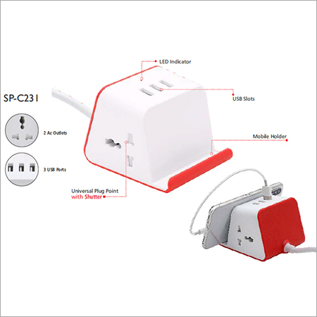 SP C231 Personal Portable Travel Adaptor (Universal)