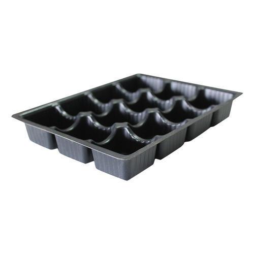 Chocolate Plastic Truffle Tray