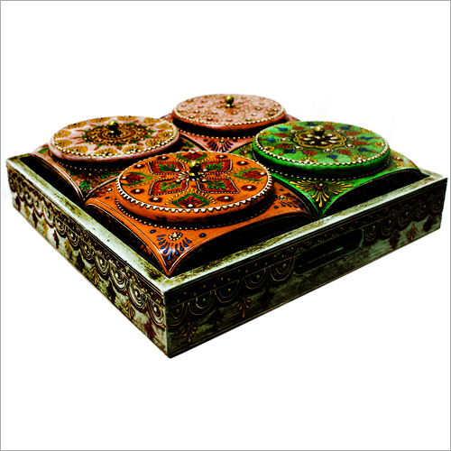 Wooden And Metal Box