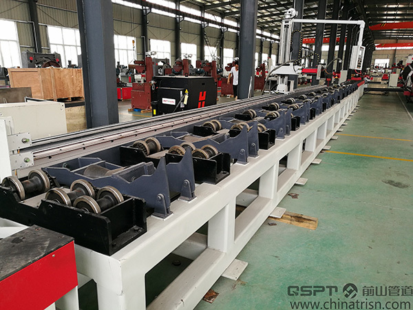 Roller Bench Type Pipe Flame Beveling and Cutting Machine