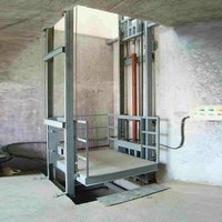 Double Mask Hydraulic Goods Lift @