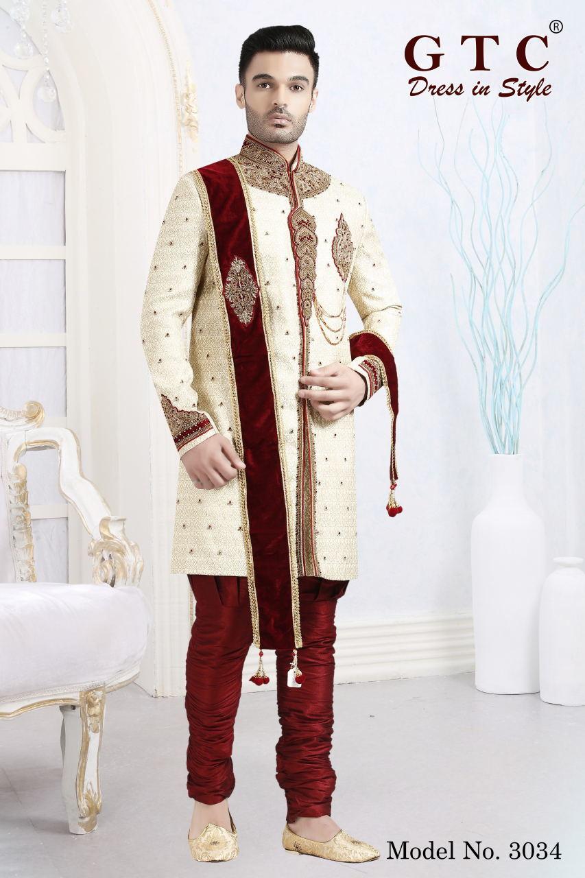3034 Designer Sherwani