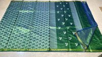 Pure Dupion Raw Silk Handloom Half Body Full Jala ,half Body Booti Jala Saree.