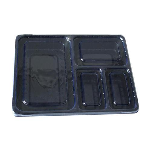 4 Cavities Food Packaging Tray