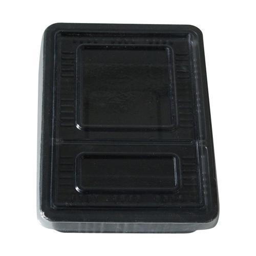 2 Cavities Plastic Food Packaging Box