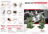 Vertical Turret Microcut Milling Machine