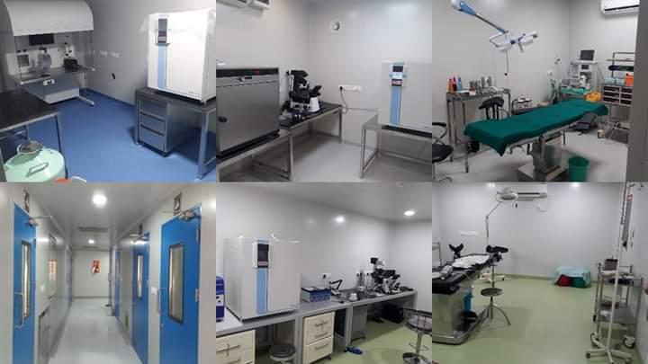 Modular IVF OT