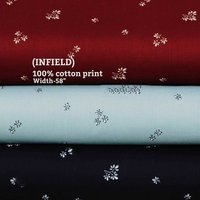 Infield 100% cotton printed shirt fabric