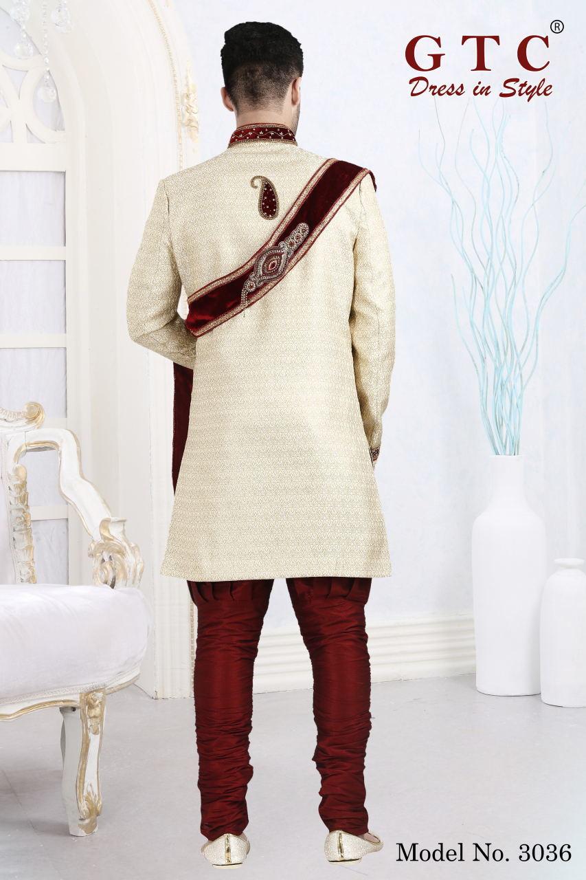 3036 Designer Sherwani