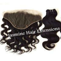 Vintage Body Wave Weft With Frontal Hair