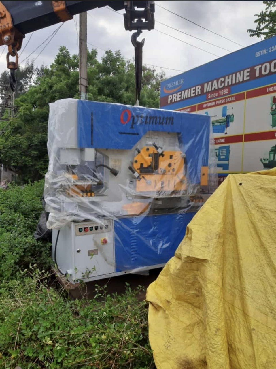 160T Hydraulic Punching Machine