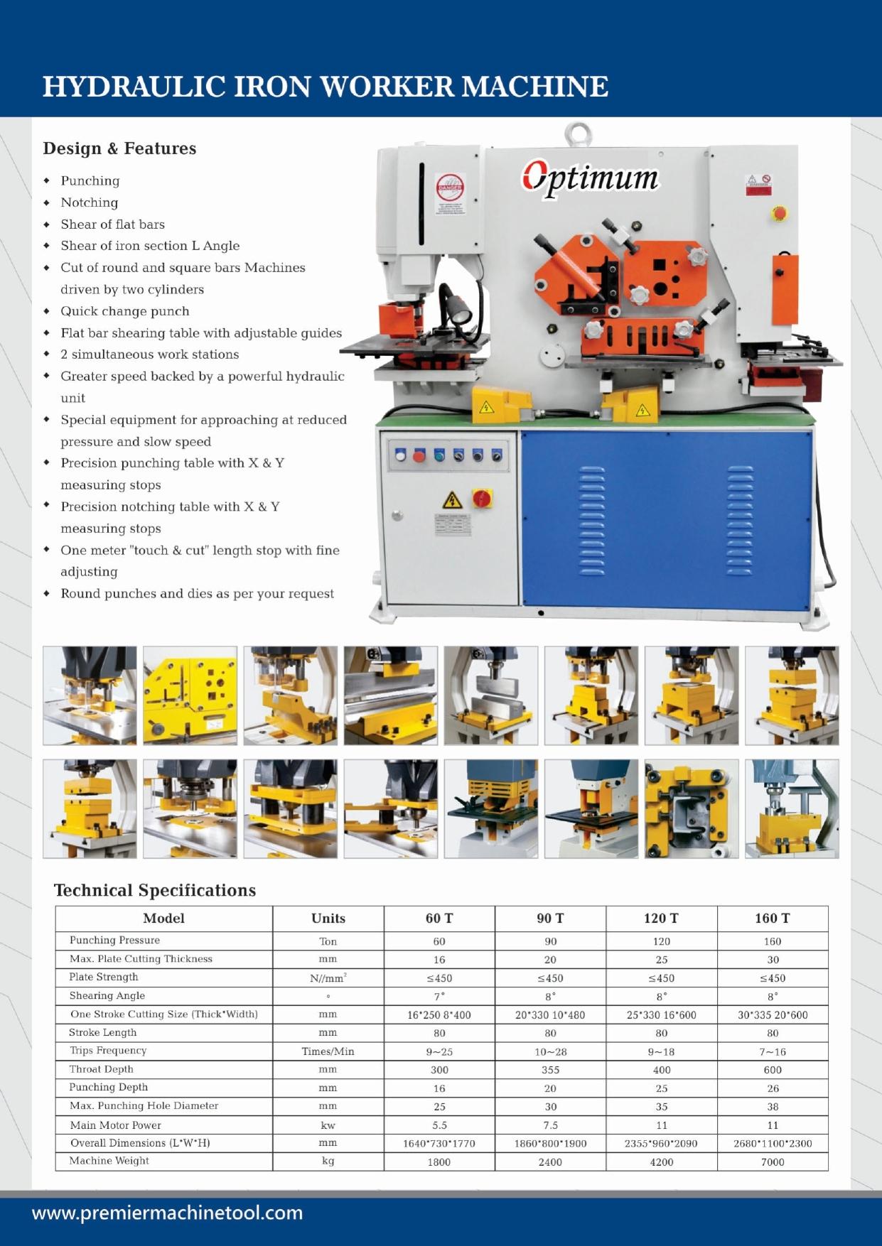120T Hydraulic Punching Machine