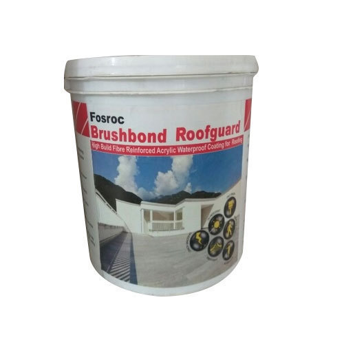Fosroc Brushbond Roof Guard Waterproofing Chemical