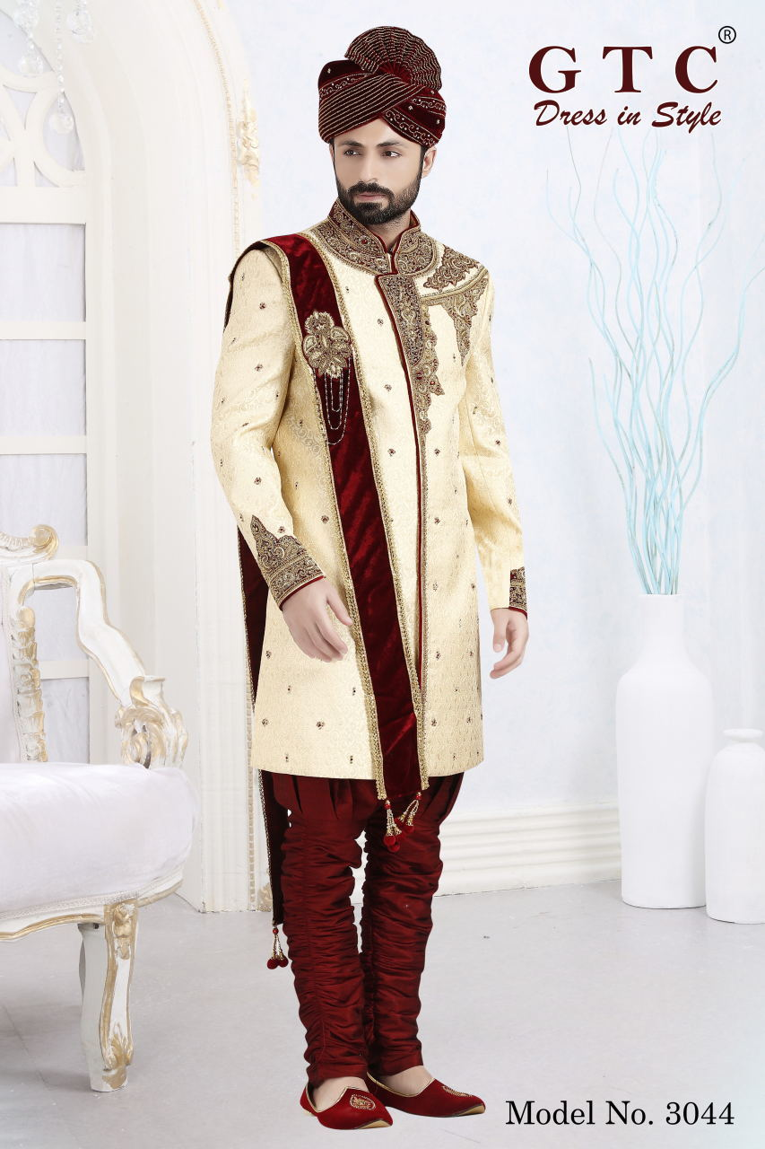 3044 Designer Sherwani