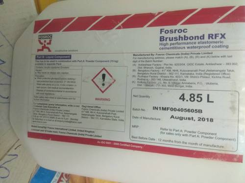 Fosroc Brushbond RFX Waterproofing Chemical