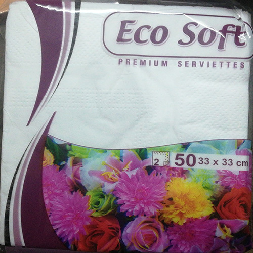 33X33 Ecosoft Napkins