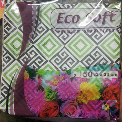 33X33 Ecosoft Printed Napkins