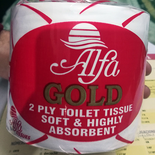 Alfa Gold Toilet Roll