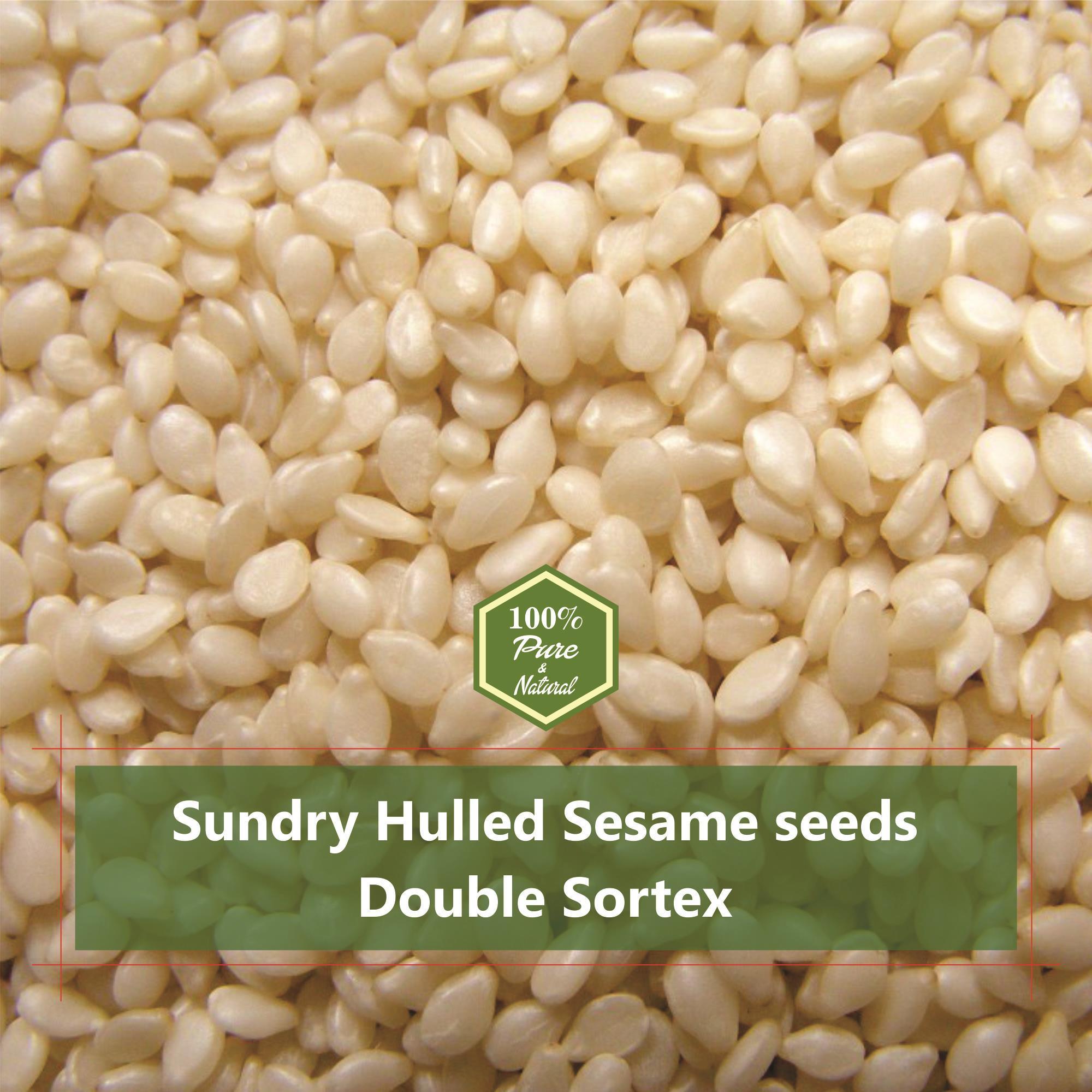 Hulled Sesame Seeds 99.98 Manufacturer & Exporter Of india