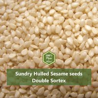 Hulled Sesame Seeds 99.98 Manufacturer & Exporter Of india