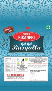 350 pcs Rasgulla tin