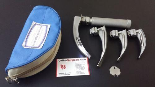 Fiberoptic Laryngoscope Kit