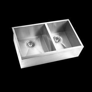 Double Bowl Straight Board Sink