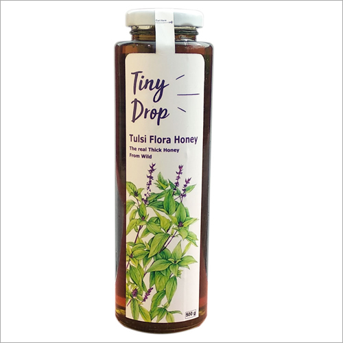 500 gm Tiny Drop Tulsi Flora Honey