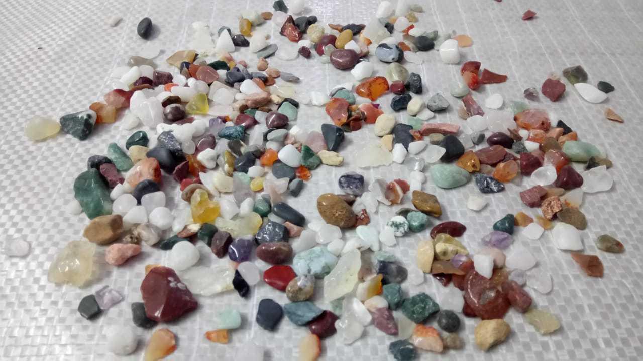 Aquarium Accessory Stone Chips Gravel Aggregate Fish Pot Stone