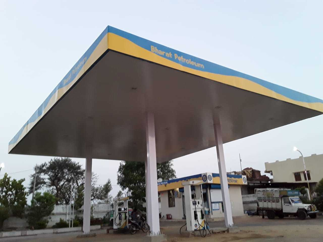 Petrol Pump Canopies Work