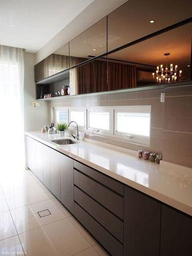 Straight Line Kitchen
