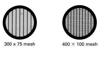 Rectangular Mesh Tem Grids - Copper Diameter: 3.05Mm Diameter Millimeter (Mm)