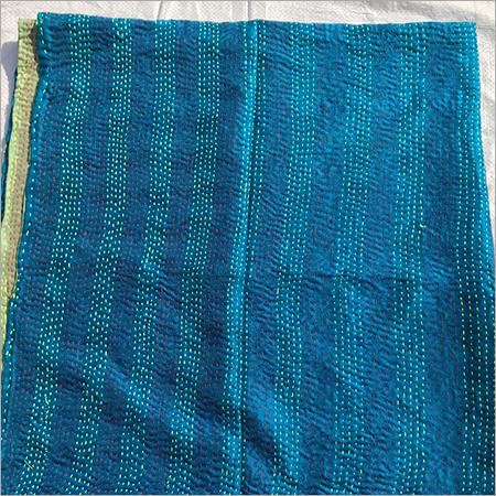Hand Work Kantha Stitch Dopatta